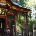 苦労して山道を走った先には・・・「三峯神社」